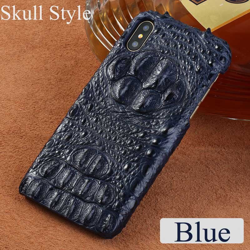 Cases Genuine crocodile leather 3 kinds of styles  Half pack phone case For iphone 7Plus All handmade can customize the model