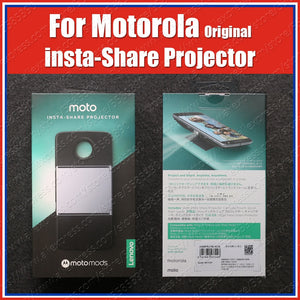 Original Moto Mods Insta-Share Projector For motorola moto Z3 Play Z2 Force Z Play Droid Magnetic Adsorption