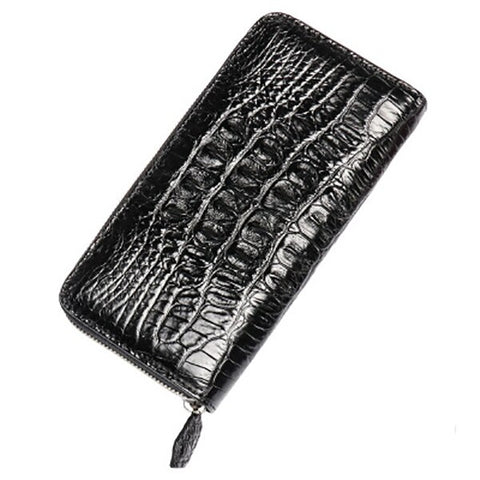 LAMGSIDI Genuine crocodile leather clutch protective case for iphone x 6 7 8plus 5s SE Luxury business noble Multifunctional bag