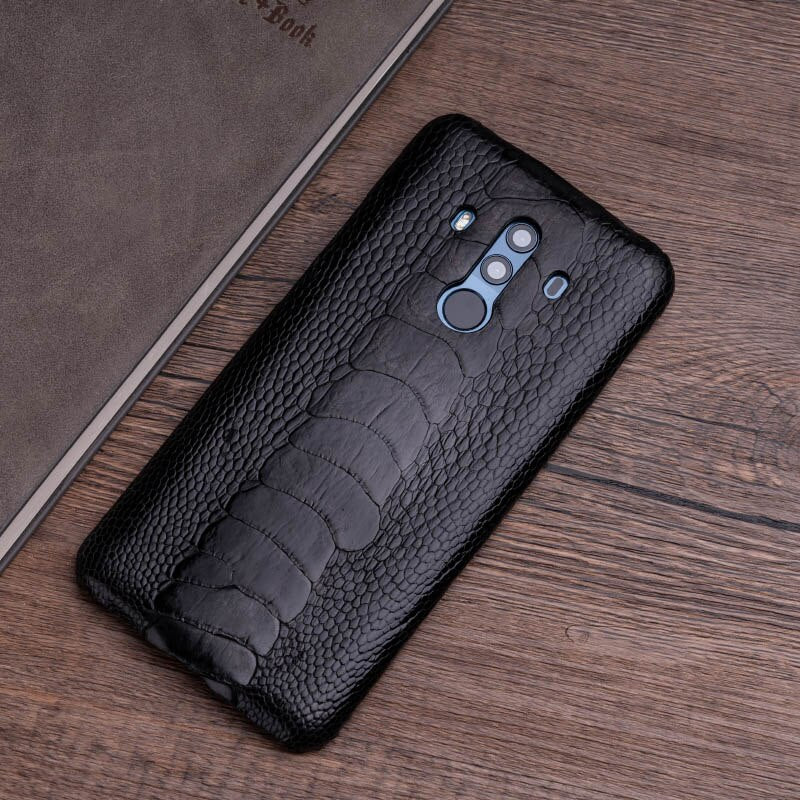 Ostrich Skin Phone Case For Huawei Mate 20 10 9 Pro P10 P20 Lite Soft TPU Edge Cover For Honor 8X Max 9 10 Nova 3 3i Capa