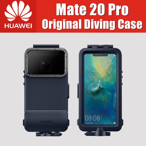 Official Original Huawei Mate 20 Pro Diving Case Waterproof Case  Swimming Snorkeling Protective Cover Mate20 Pro case