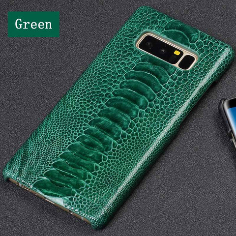 Phone Cases For Samsung Galaxy S6 S7 S8 S9 S10 Plus Ostrich Foot Texture Case For Note 8 9 A5 A7 A8 2018 J3 J5 J7 2017 case