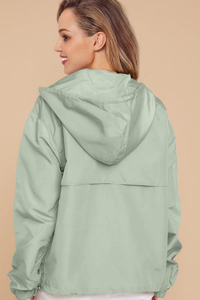 Green Windbreak Jacket