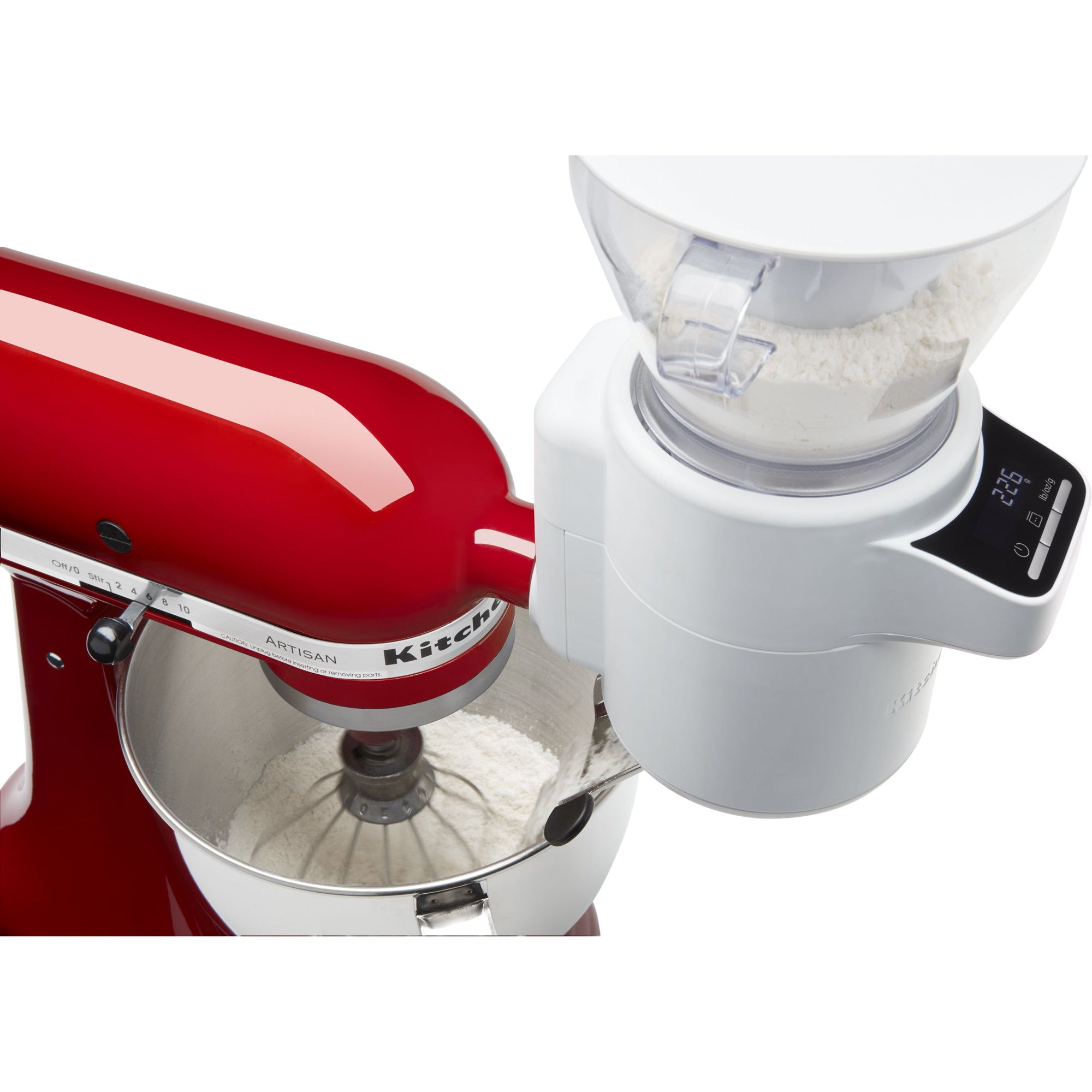 Sifter and Scale Attach White