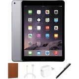 Refurbished Apple iPad Air, 16GB, Bundle, Space Gray, WiFi Only, Case and Stylus
