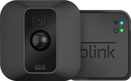 Blink - XT2 Camera Indoor/Outdoor Wire-Free 1080p Surveillance System - Black