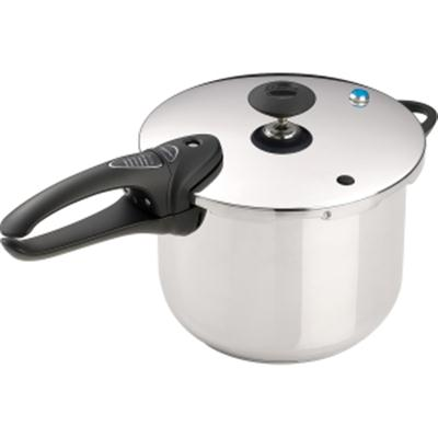 6Qt SS Pressure Cooker Deluxe