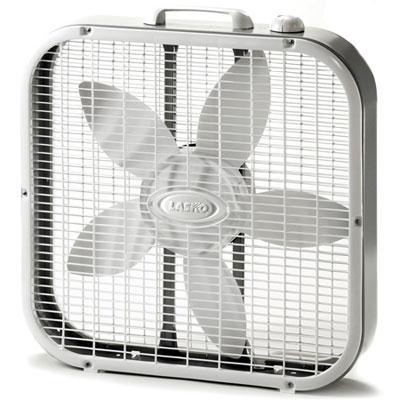 "Lasko 20"" Box Fan 3 Speed"