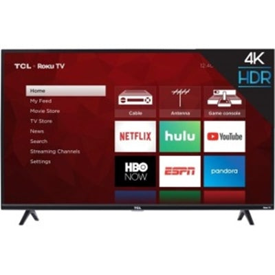 TCL 43 Inch 4K LED Roku TV