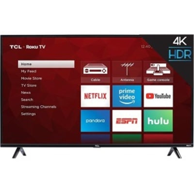 "50"" 4K LED Roku TV"