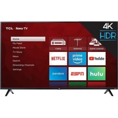 "65"" 4K LED Roku TV"