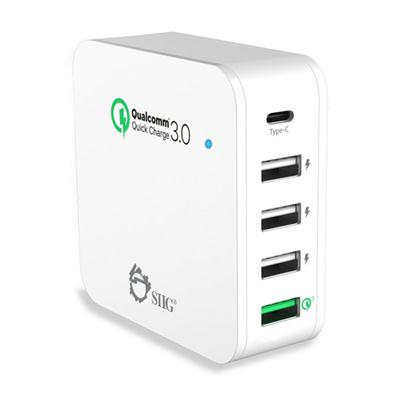 5Port Smart USB Charger Wht
