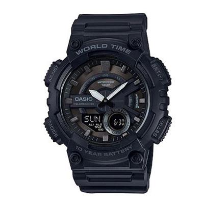 AEQ110W 1BV Blk Ana Digi Watch