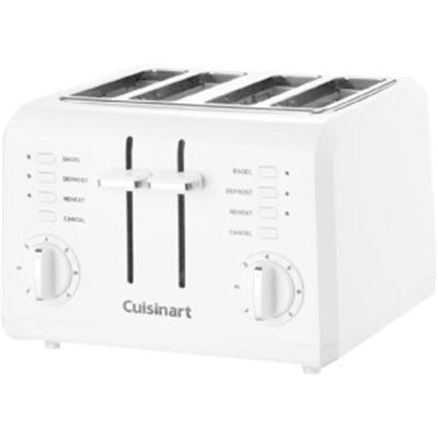 Compact Toaster 4Slice White