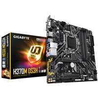 Gigabyte Ultra Durable H370M DS3H Desktop Motherboard - Intel Chipset - Socket H4 LGA-1151