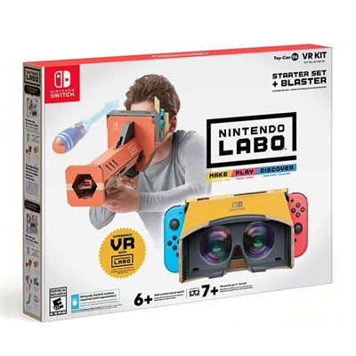 Labo Toy VR Kit Strt Blas NSW