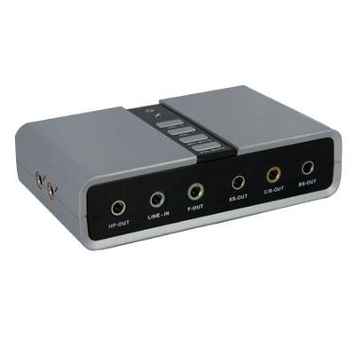 USB Audio Adapter Sound Card