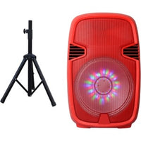 Portable Bluetooth DJ Speaker with Stand Rd