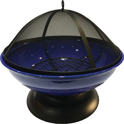 FIRE BOWL SPHERE BLUE