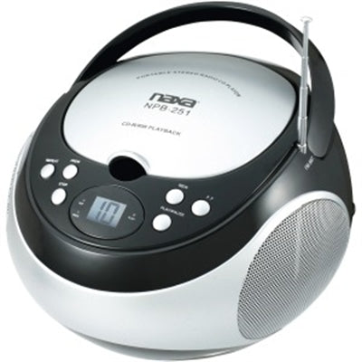 Portable CD AM FM Stereo Radio