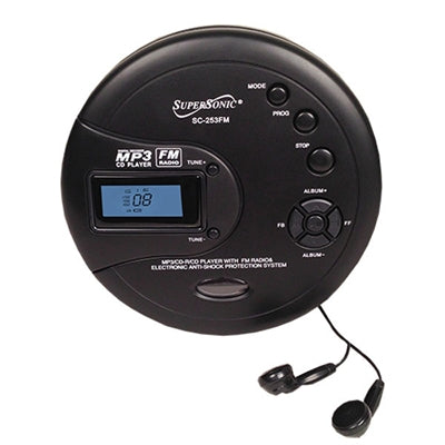 Personal MP3 CD Player