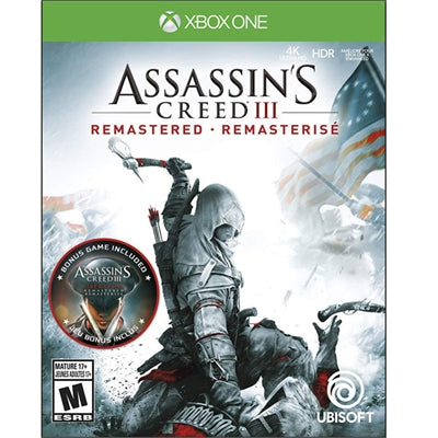 Assassins Creed III Remast XB1