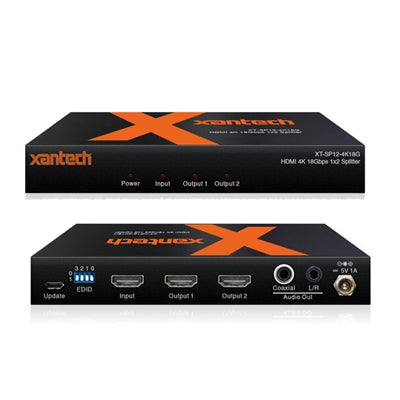 HDMI 4K 1x2 Split Audio Brkout