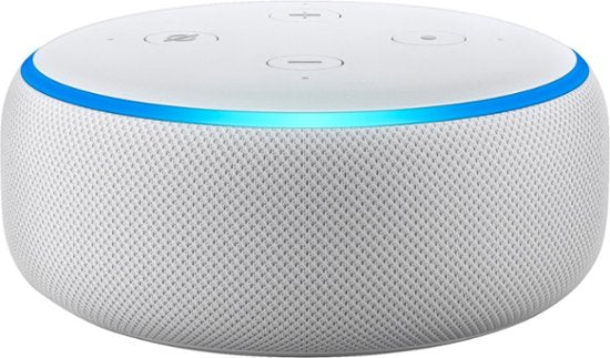 Amazon Echo Dot (3rd Generation) Smart Speaker - Alexa Supported - Charcoal/White