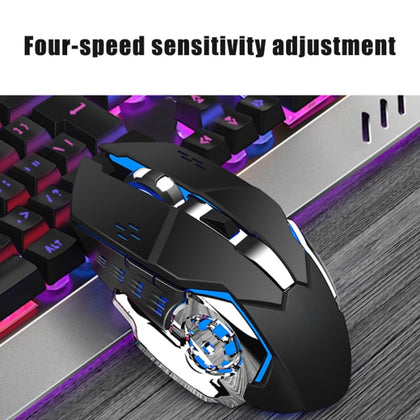 Color LED Backlit Keyboard Wireless Keyboard and Mouse