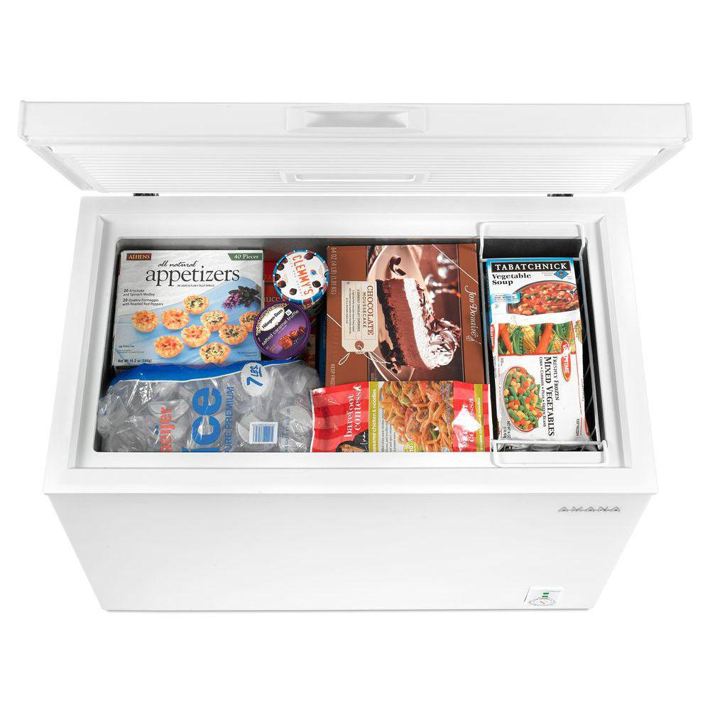Amana 7 cu. ft. Chest Freezer in White