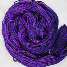 Load image into Gallery viewer, Purple Dinosaur Bliss Worsted