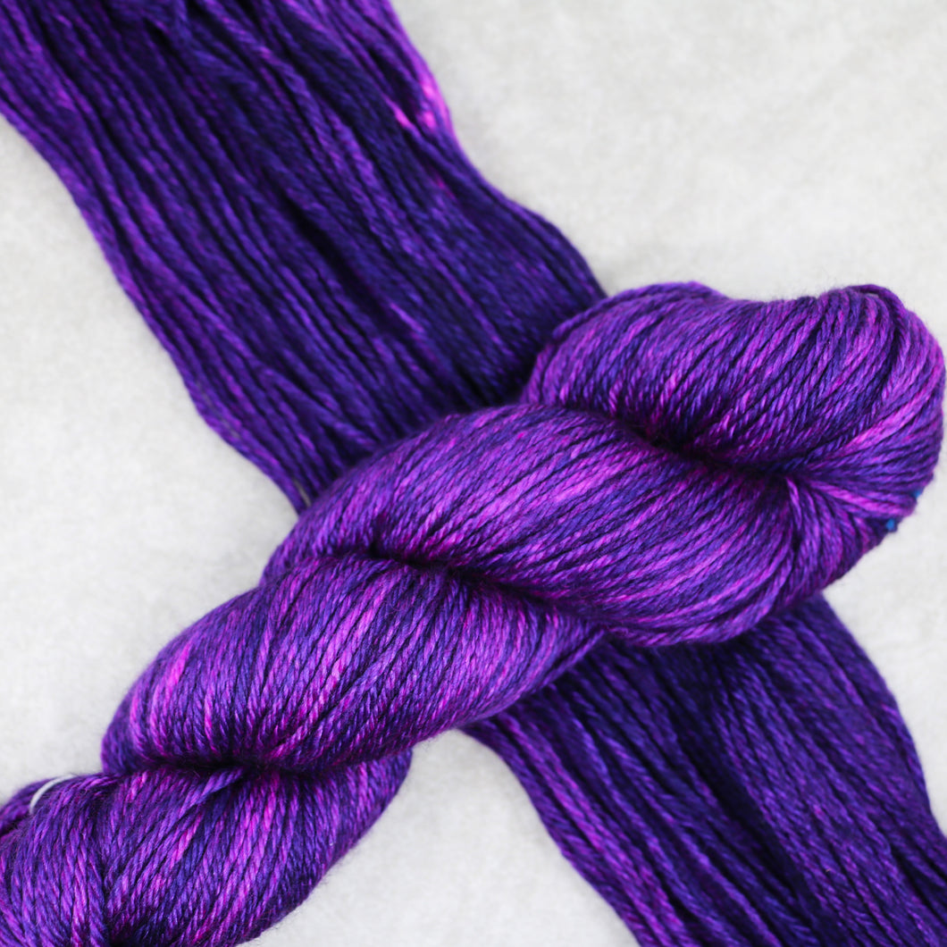 Purple Dinosaur Bliss Worsted