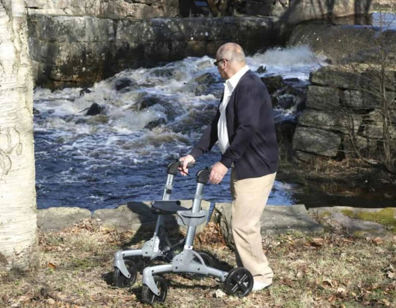 What is an All-Terrain Rollator Walker?