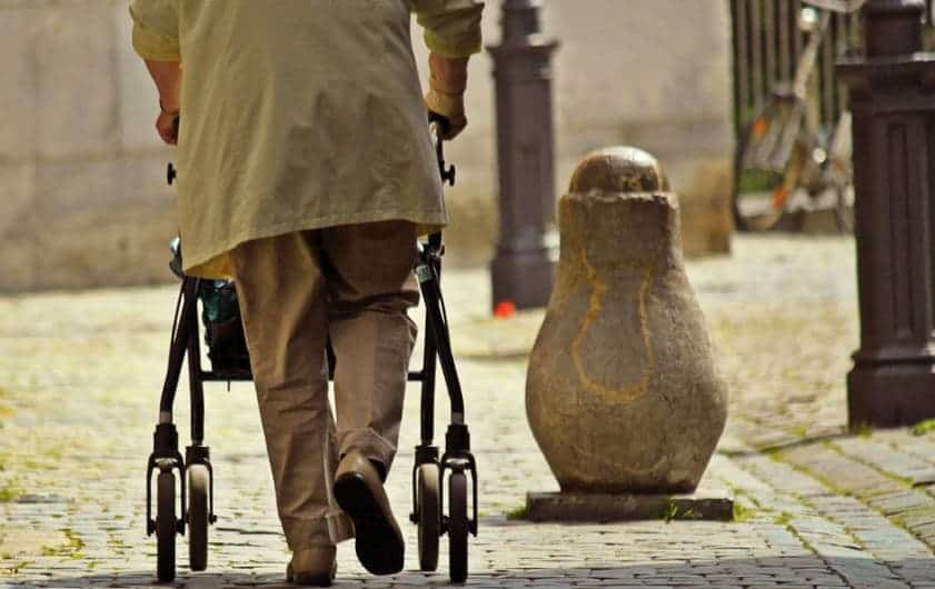 Rollator Walkers Keep Seniors More Active - Here's How