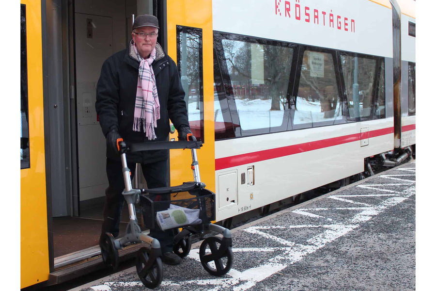 Improve Your Mobility with a Volaris Designer Rollator Walker