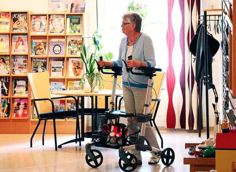 Rollator Walkers: Giving the Gift of Mobility & Freedom