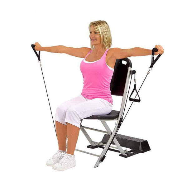Make strength training part of your exercise -- and how the Resistance Chair system can help
