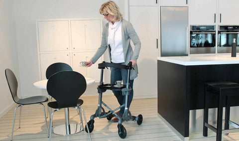 Rollator Walker for Mobility and Aging in Place