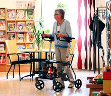Load image into Gallery viewer, Volaris RA WALK UPRIGHT Rollator Walker