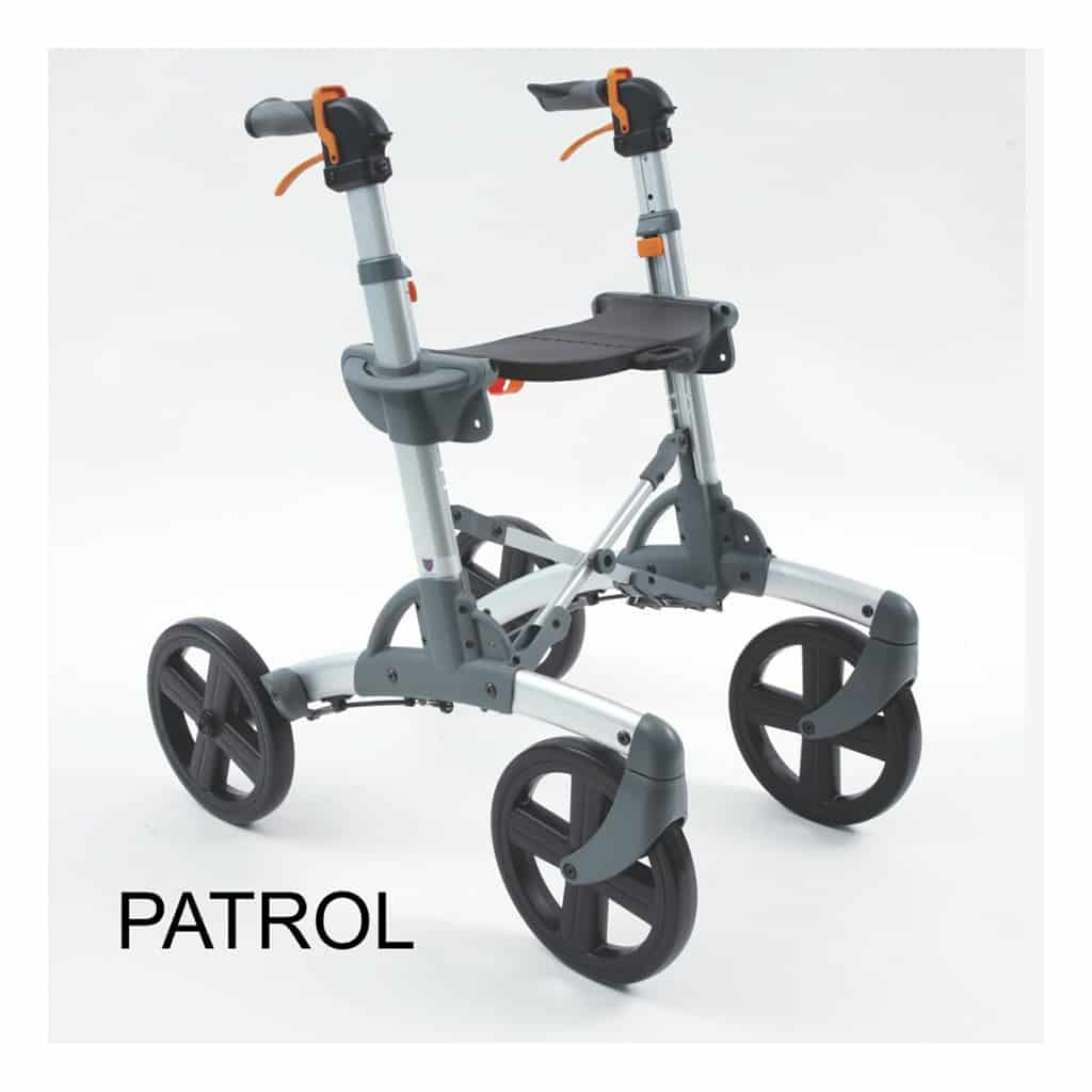 Volaris PATROL All Terrain Rollator Walker