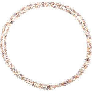 Multi-Color Freshwater Cultured Pearl Strand