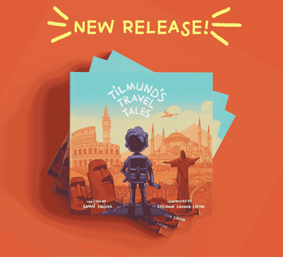 Introducing 'Tilmund's Travel Tales' - our new picture book!
