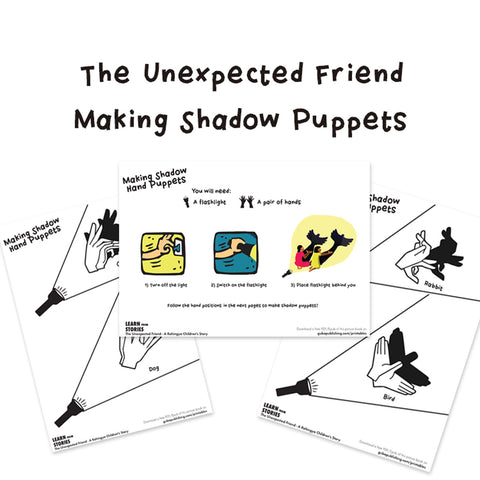The Unexpected Friend Shadow Puppet Activity