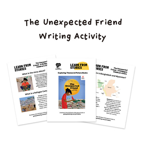The Unexpected Friend Writing Activity