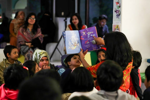 dhaka kids book reading
