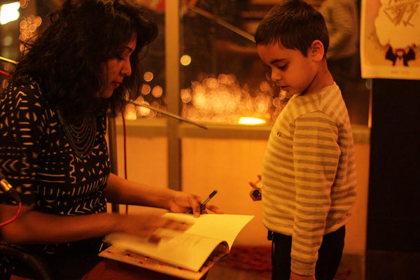 bengali author signing childrens book