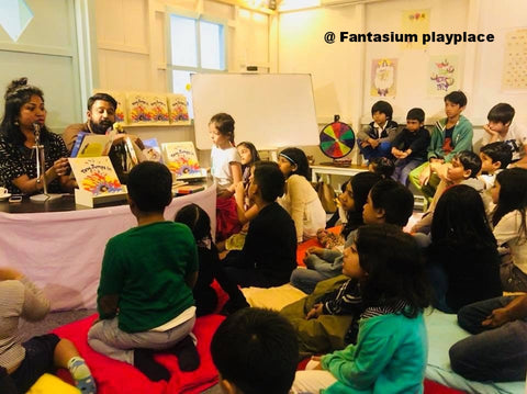 fantasium playplace childrens book reading