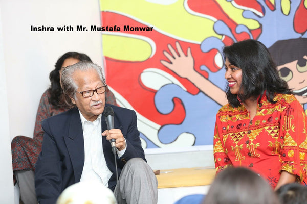 inshra and mustafa monwar book reading