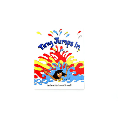 Tiny Jumps In English Picture Book Cover