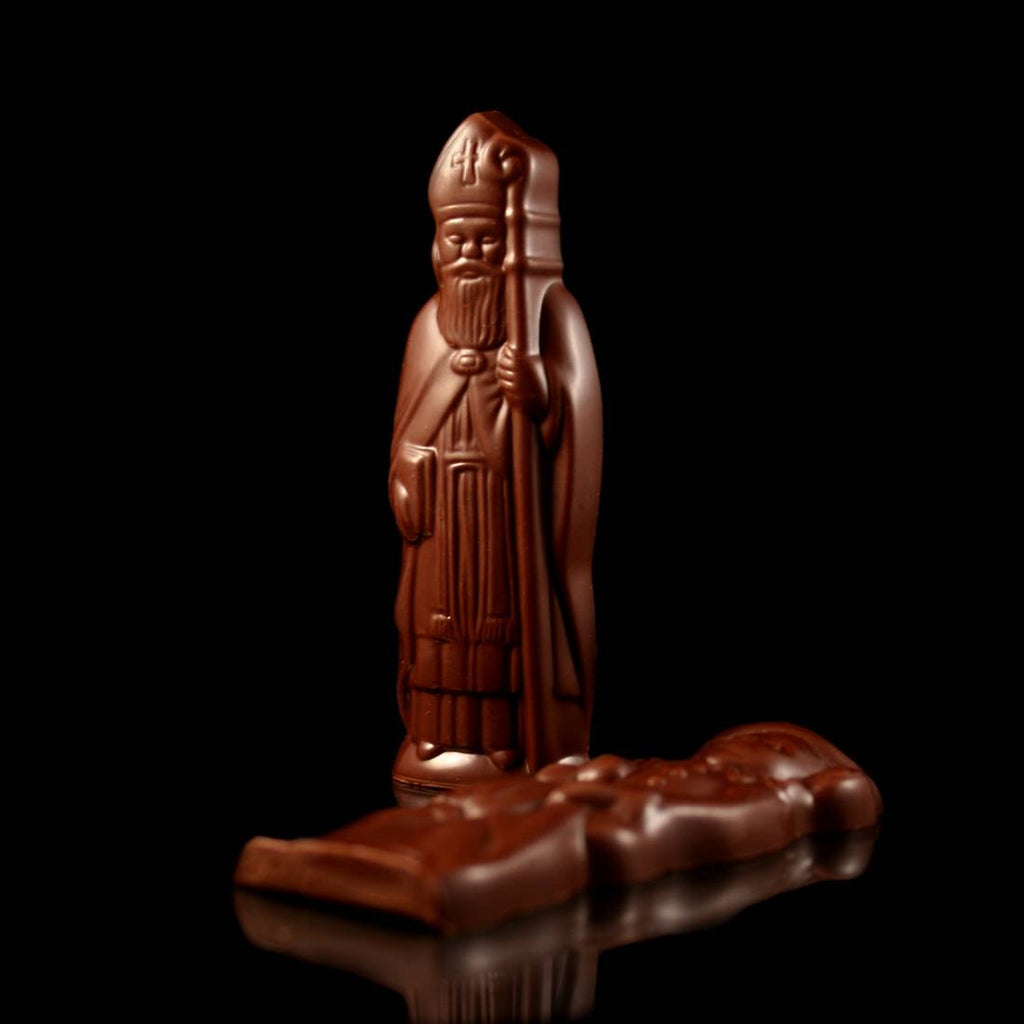Saint Nicholas & Black Peter Figures - BE Chocolat